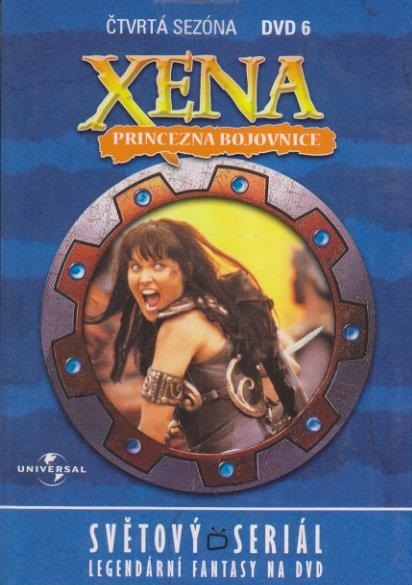 Xena disk 6 - 4. sezóna - DVD