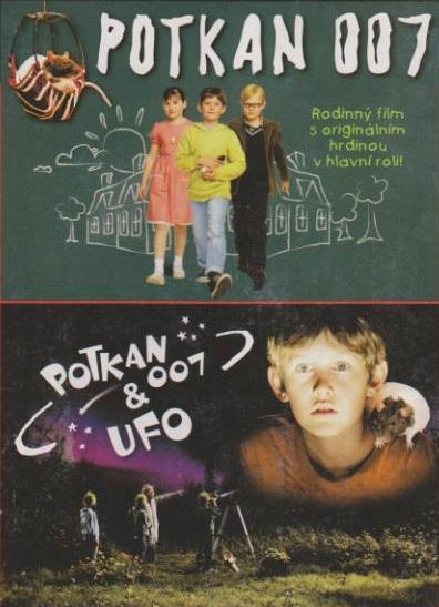 Potkan 007 - Potkan 007 a Ufo - DVD