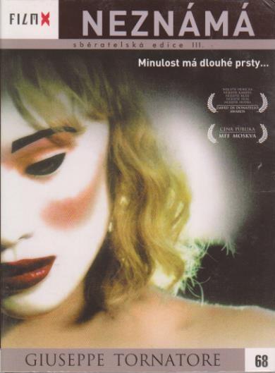 Neznámá - Guiseppe Tornatore - DVD