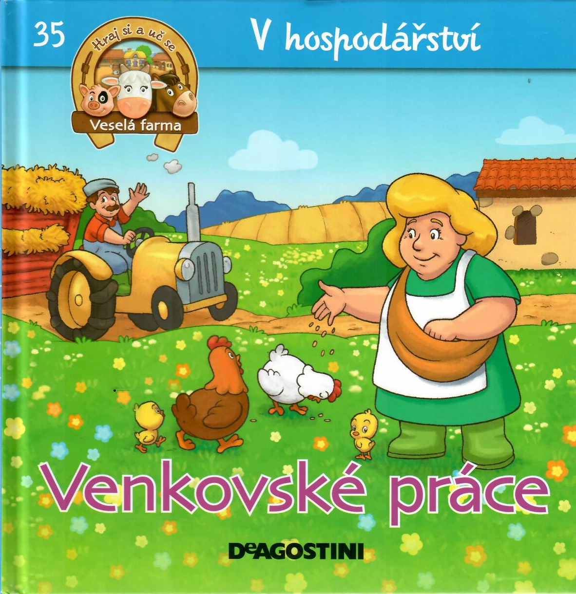 V hospodářství 35 - Venkovské práce (Veselá farma)