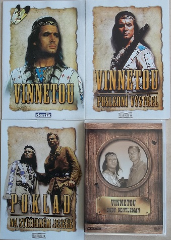 Kolekce Vinnetou - 4 DVD