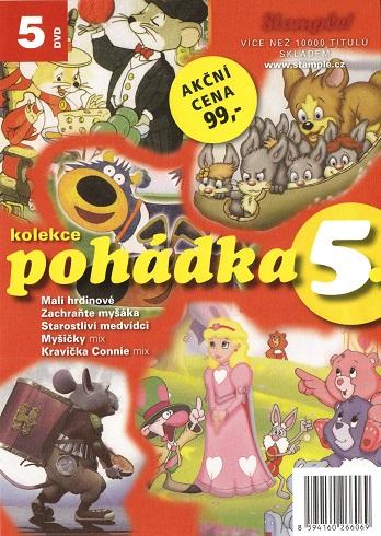 Kolekce pohádka 5 - DVD