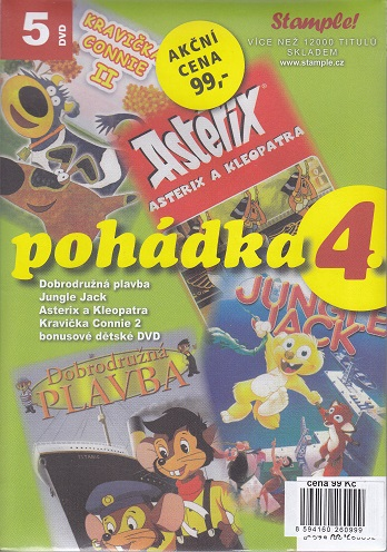 Kolekce pohádka 4 - DVD