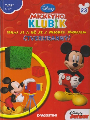 Mickeyho klubík 23 (DVD + kniha) - částečně poničené rohy dopravou sleva 20%