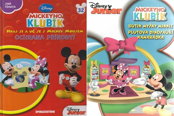 Mickeyho klubík 32 (DVD + kniha)
