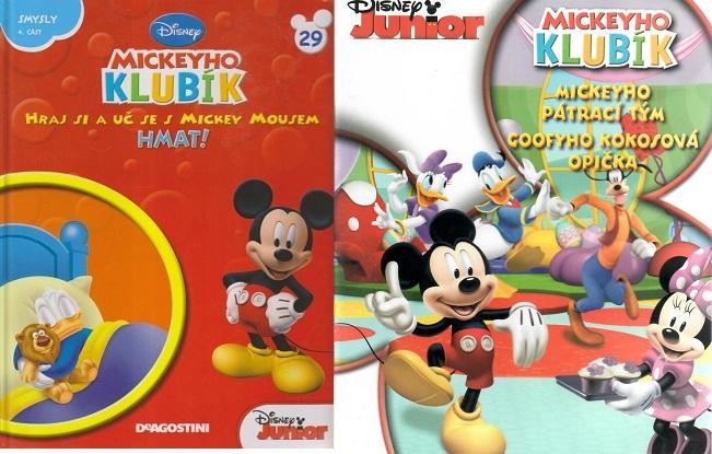 Mickeyho klubík 29 (DVD + kniha)