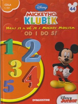 Mickeyho klubík 44 (DVD + kniha)
