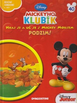 Mickeyho klubík 40 (DVD + kniha)