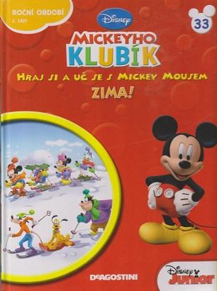 Mickeyho klubík 33 (DVD + kniha)