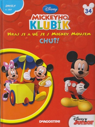Mickeyho klubík 34 (DVD + kniha)