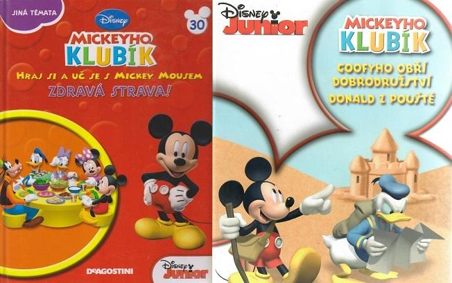 Mickeyho klubík 30 (DVD + kniha)