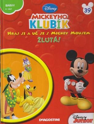 Mickeyho klubík 39 (DVD + kniha)