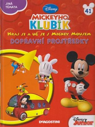 Mickeyho klubík 41 (DVD + kniha)