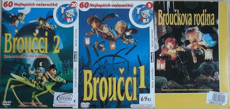 Kolekce Broučci 3DVD