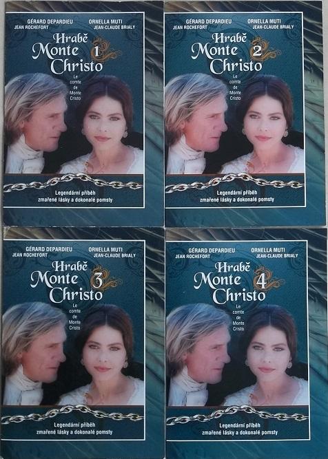 Kolekce Hrabě Monte Christo 4DVD
