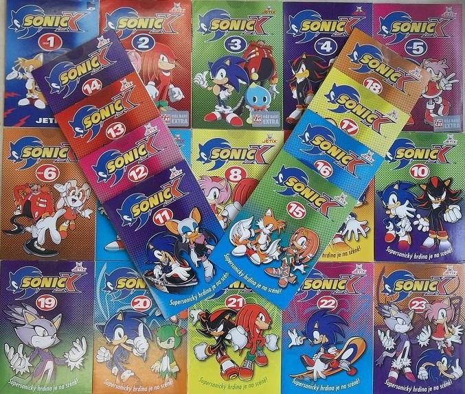 Velká kolekce Sonic X 24DVD