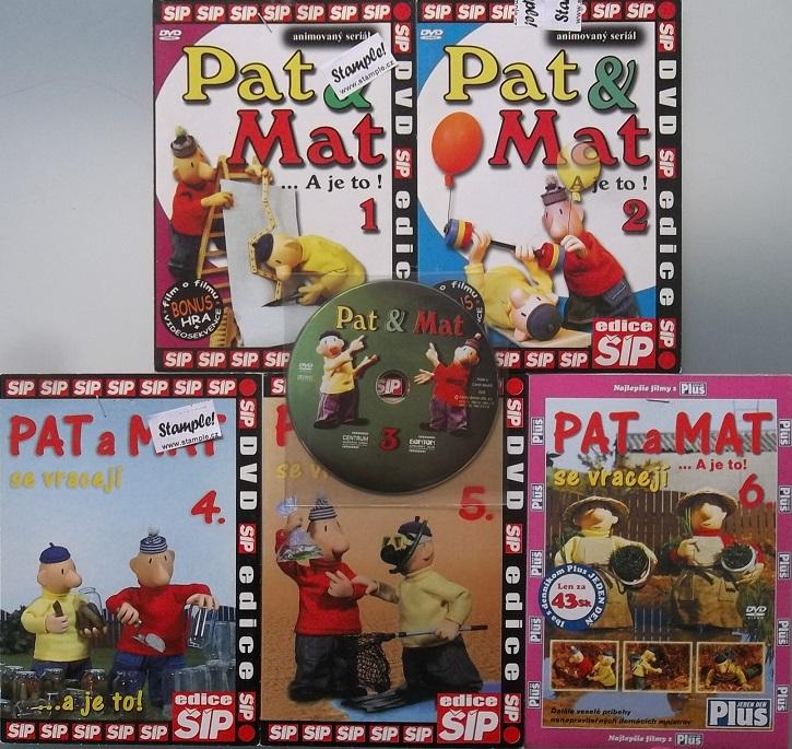 Kolekce Pat a Mat 6 DVD
