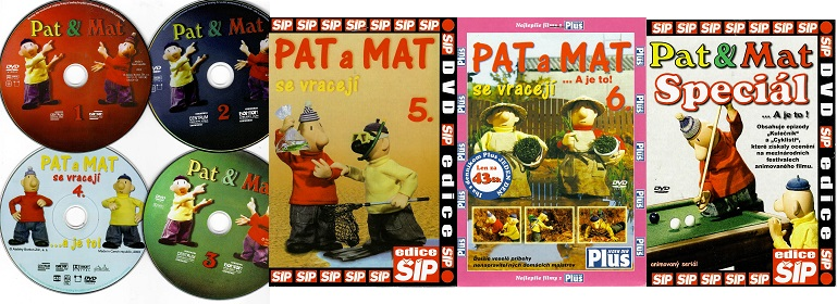 Kolekce Pat a Mat 7 DVD