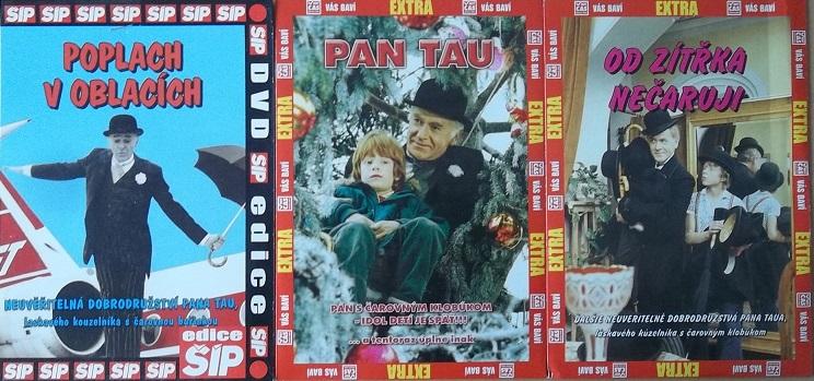 Kolekce Pan Tau 3DVD