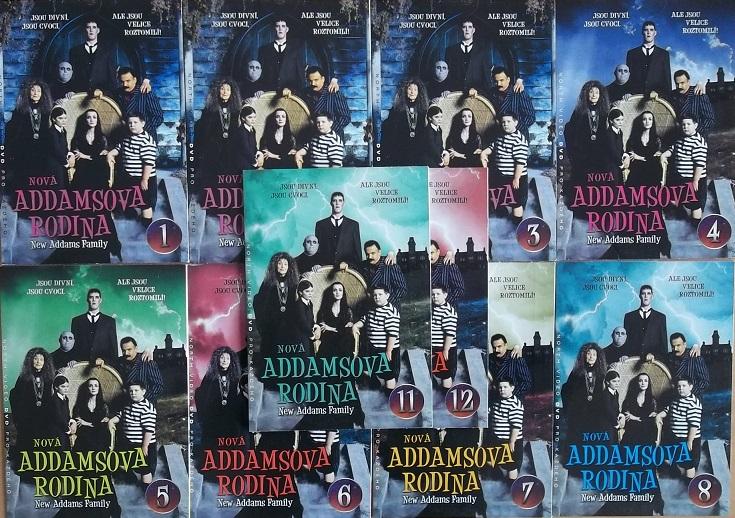 Kolekce Nová Addamsova rodina 12DVD