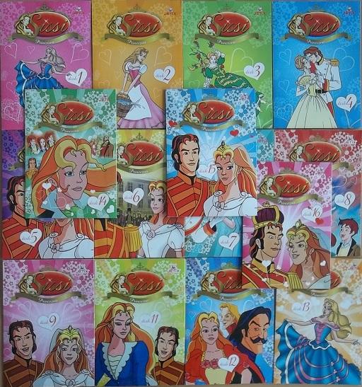Velká kolekce princezna Sissi 15DVD