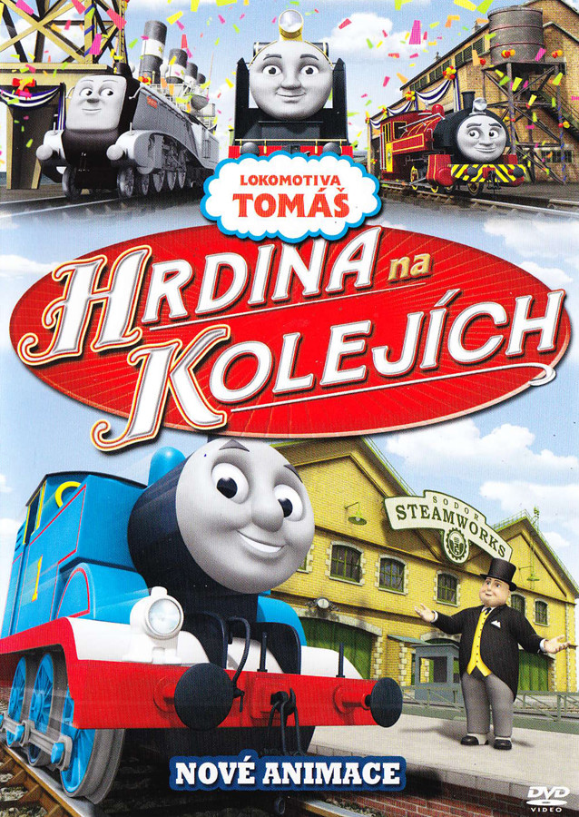 Lokomotiva Tomáš: Hrdina na kolejích - DVD plast