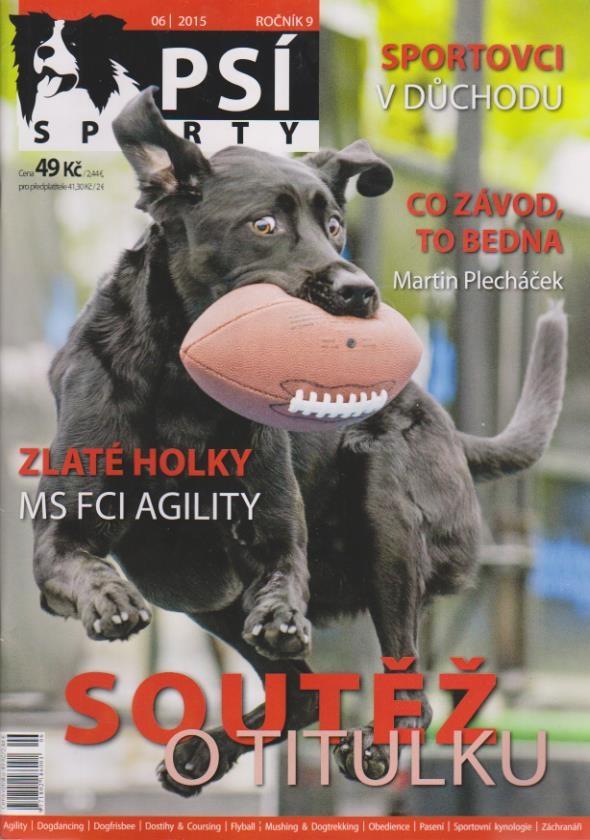 Psí sport 2015/06 - ročník 9