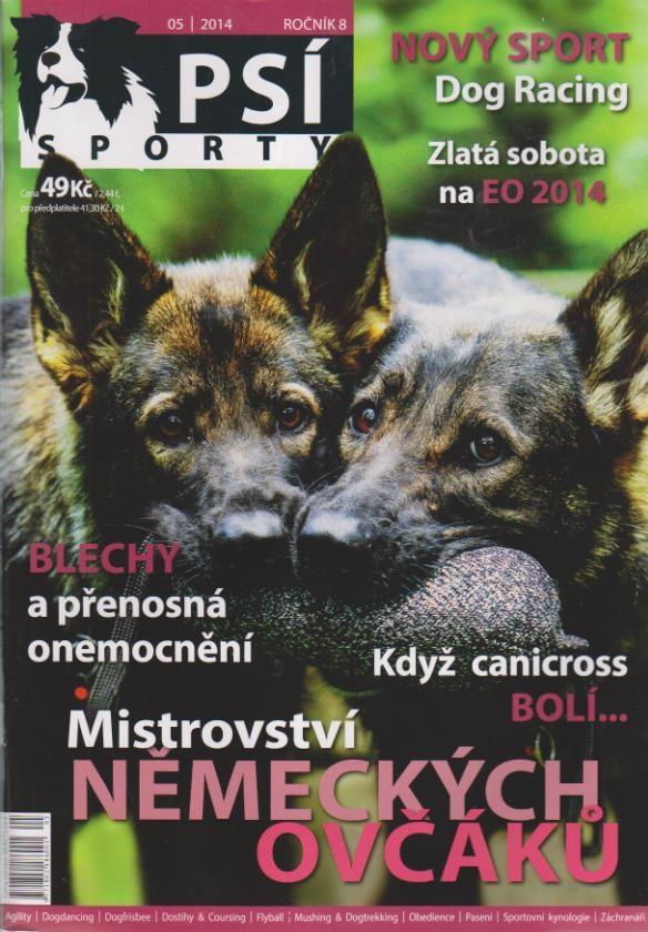 Psí sporty, 2014 05, Ročník 8