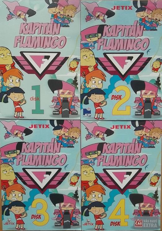 Kolekce Kapitán Flamingo 4DVD