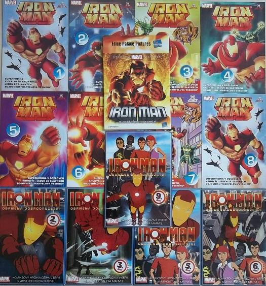 Kolekce Iron Man 14DVD