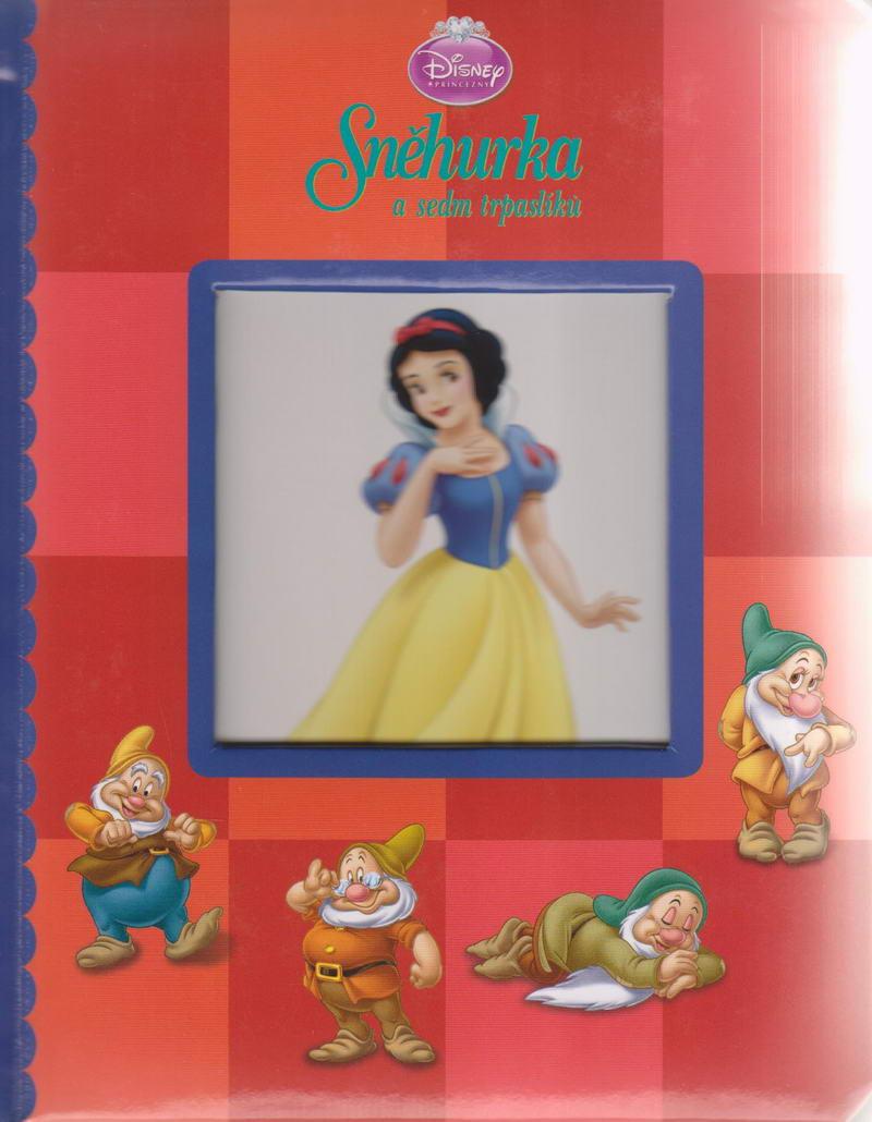 Sněhurka a sedm trpaslíků - Disney -leporelo červené
