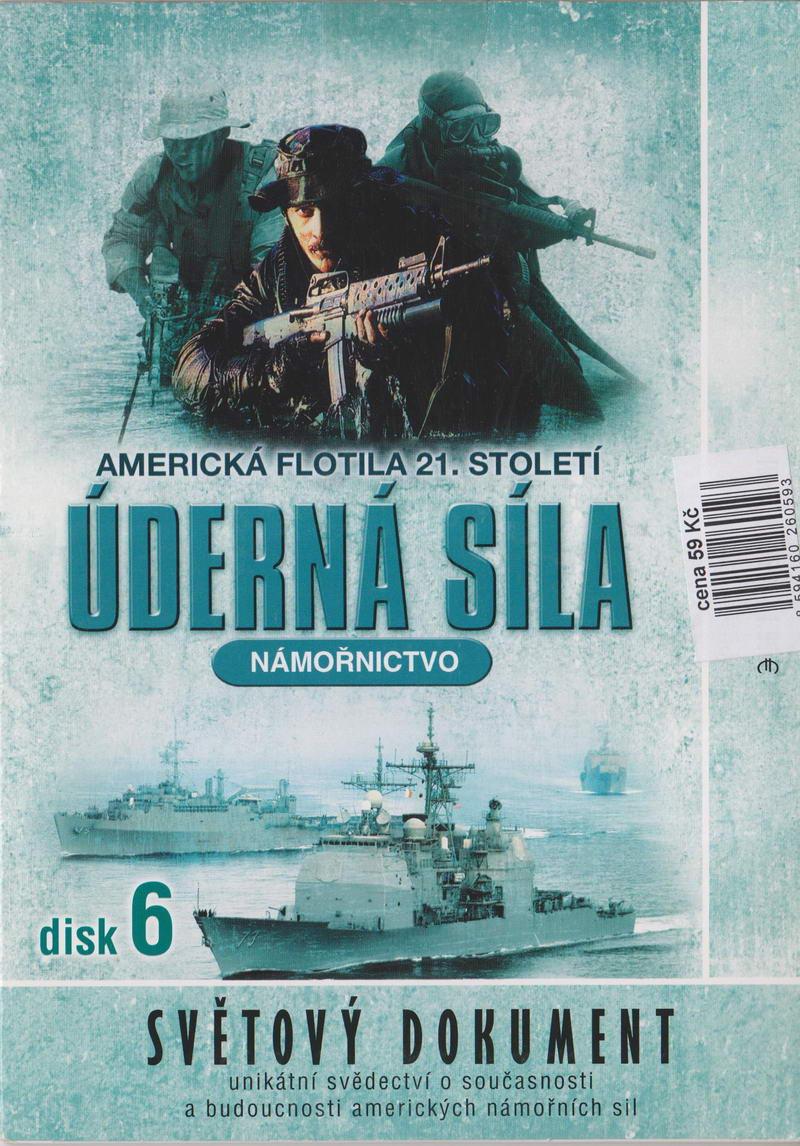 Úderná síla - Námořnictvo - disk 6 - DVD