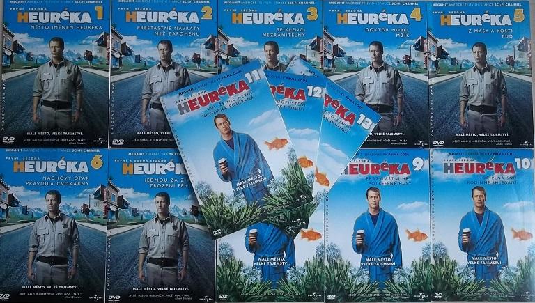 Kolekce Heuréka - město divů 13DVD