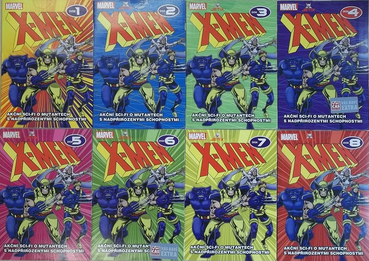 Kolekce X-MEN - DVD
