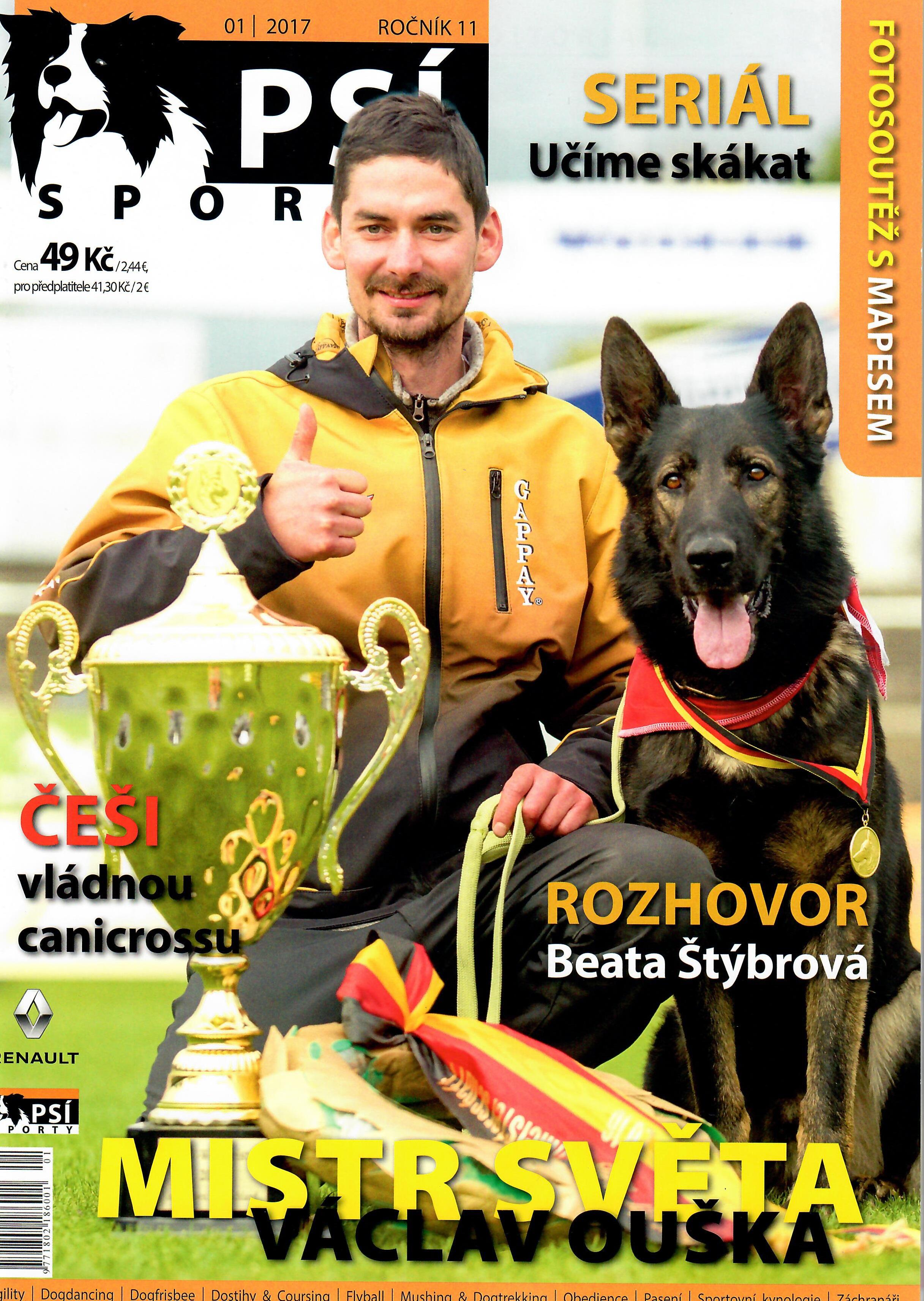 Psí sporty, 2017 01, Ročník 11