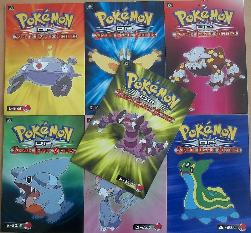 Kolekce Pokémon DP Sinnoth League Victors - 7 DVD
