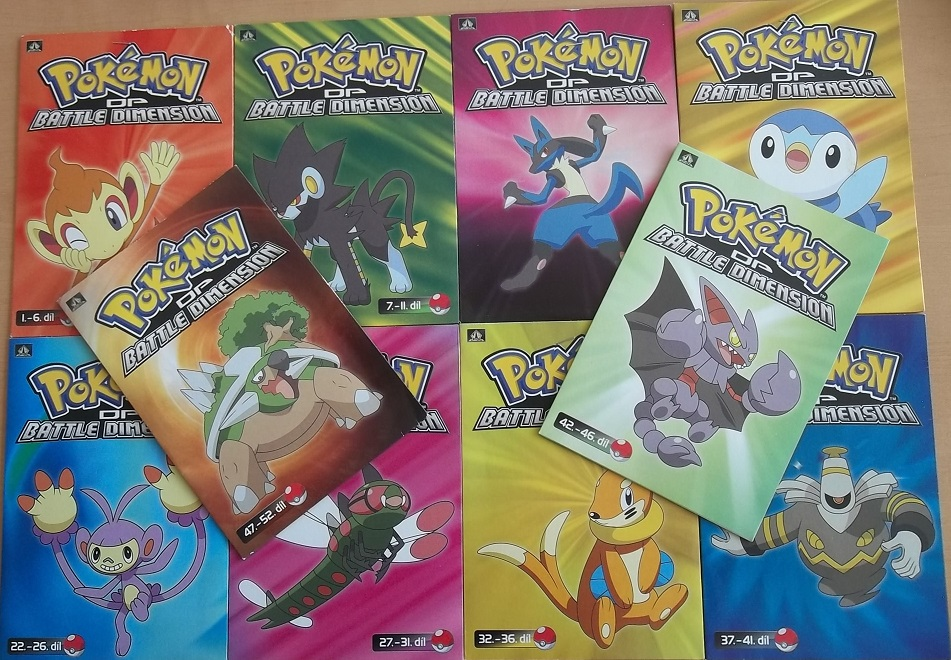 Kolekce Pokémon DP Battle Dimension - 10 DVD