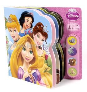 Disney princezny - Co to slyším? Hrací knížka