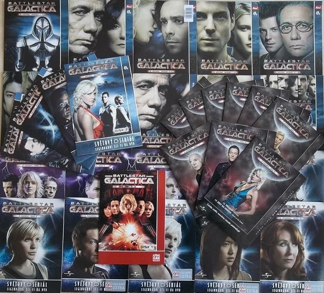 Velká kolekce Battlestar Galactica 38DVD