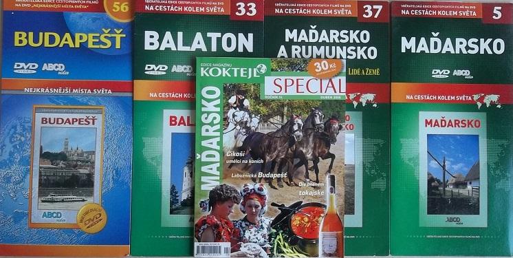 Kolekce Maďarsko 4DVD+časopis