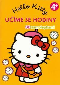 Hello Kitty Učíme se hodiny 4+ se samolepkami