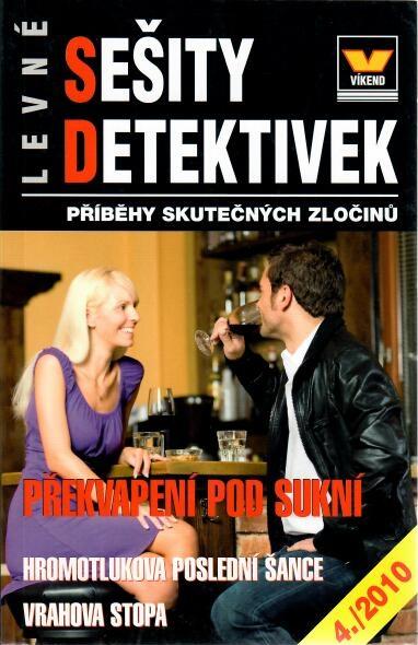 Sešity detektivek - Překvapení pod sukní 4/2010