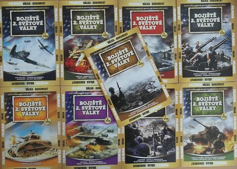 Kolekce Bojiště 2.světové války 9DVD