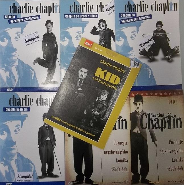 Kolekce Charlie Chaplin 7 DVD