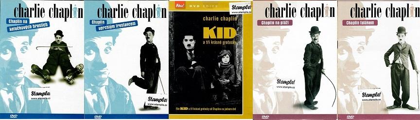 Kolekce Charlie Chaplin 5 DVD