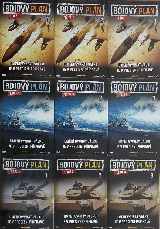 Kolekce Bojový plán 9DVD