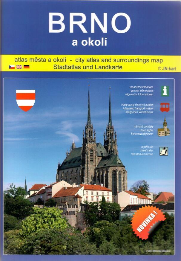 Brno a okolí - atlas města a okolí