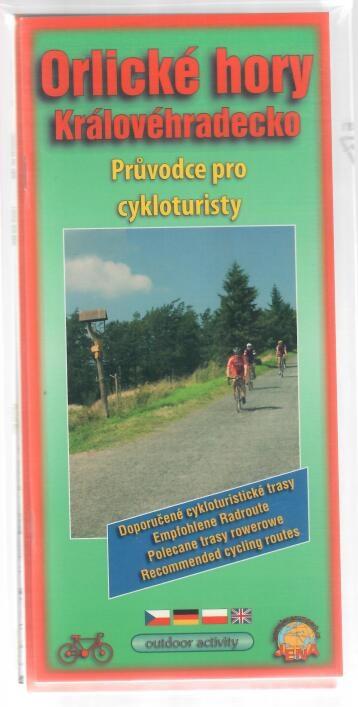 Orlické hory Královéhradecko - Průvodce pro cykloturisty + Velká cykloturistická