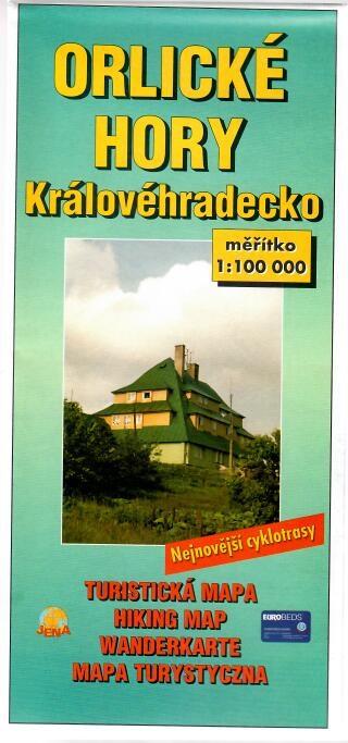Orlické hory Královéhradecko - Turistická mapa