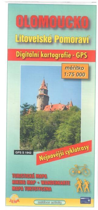 Olomoucko - Litovelské Pomoraví - Turistická mapa